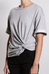 Twist Front Sweatshirt