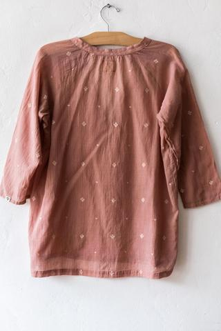 BSBEE Antique Rose Monroe Top