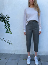Pharaoh  Crop Erin Pant - Military Stretch Twill
