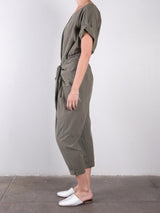 Cotton Tencel Andrea Jumpsuit / Military