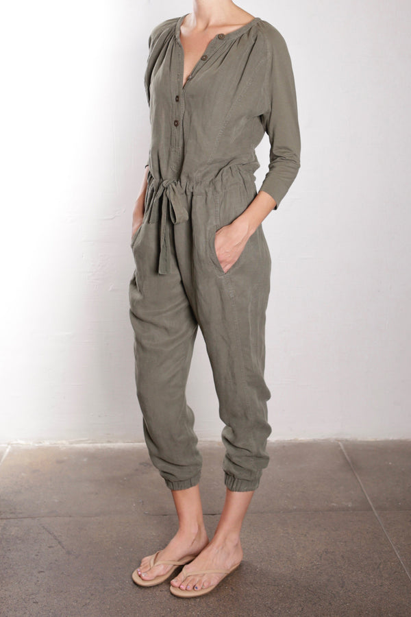 Olivia Jumpsuit - Military