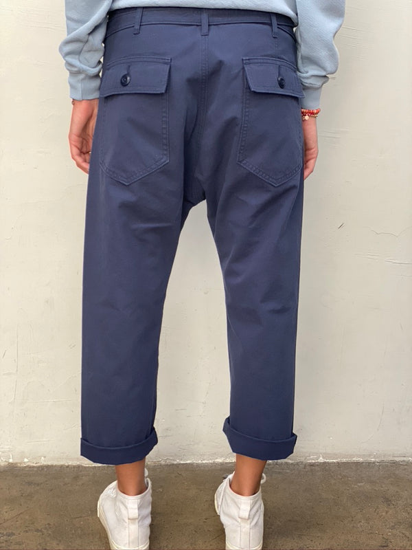 THE GREAT Convertible Trouser - Navy