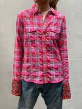 Le Superbe Super Stoned Cowboy Shirt - Indian Summer Plaid