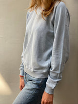 THE GREAT Shrunken Sweatshirt - Powder Blue