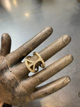 Logan Hollowell Pave Peace Ring