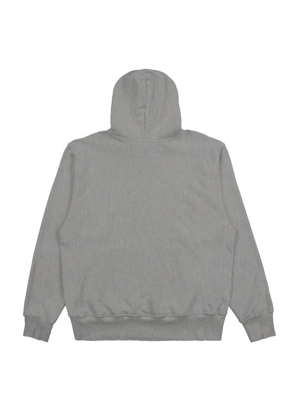 Les Tien Cropped Hoodie - Heather Grey