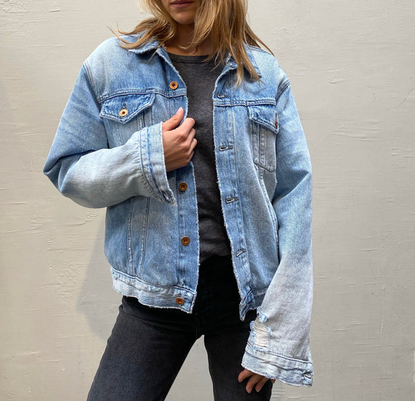 NSF Jesse Oversized Denim Jacket