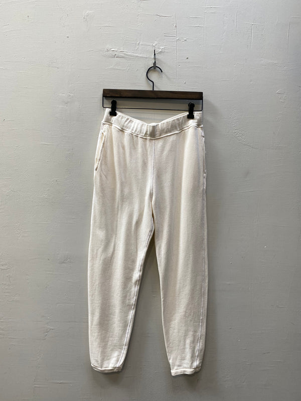 Christina Lehr Scout Sweatpant - Milk