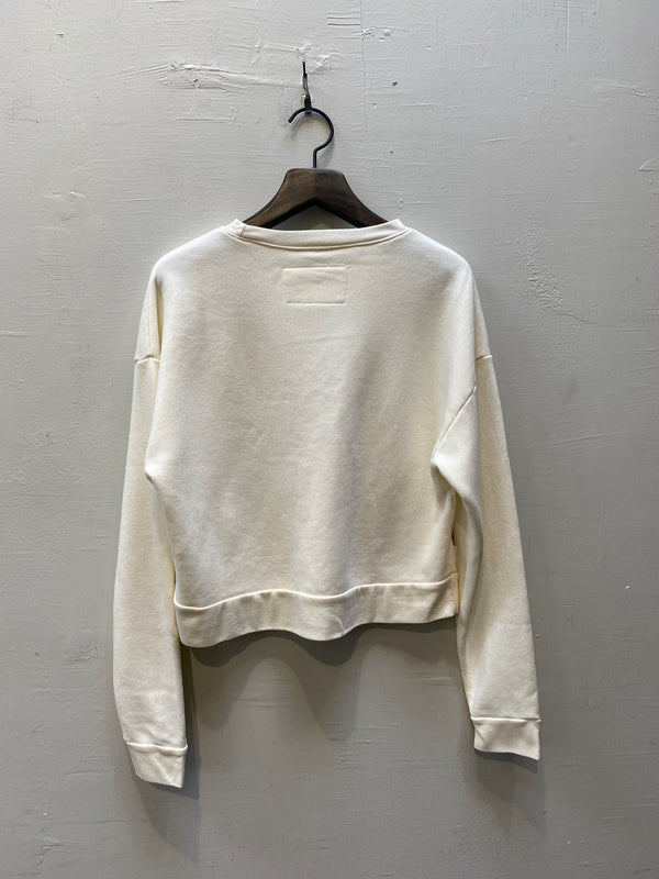Christina Lehr Dre Sweatshirt - Milk