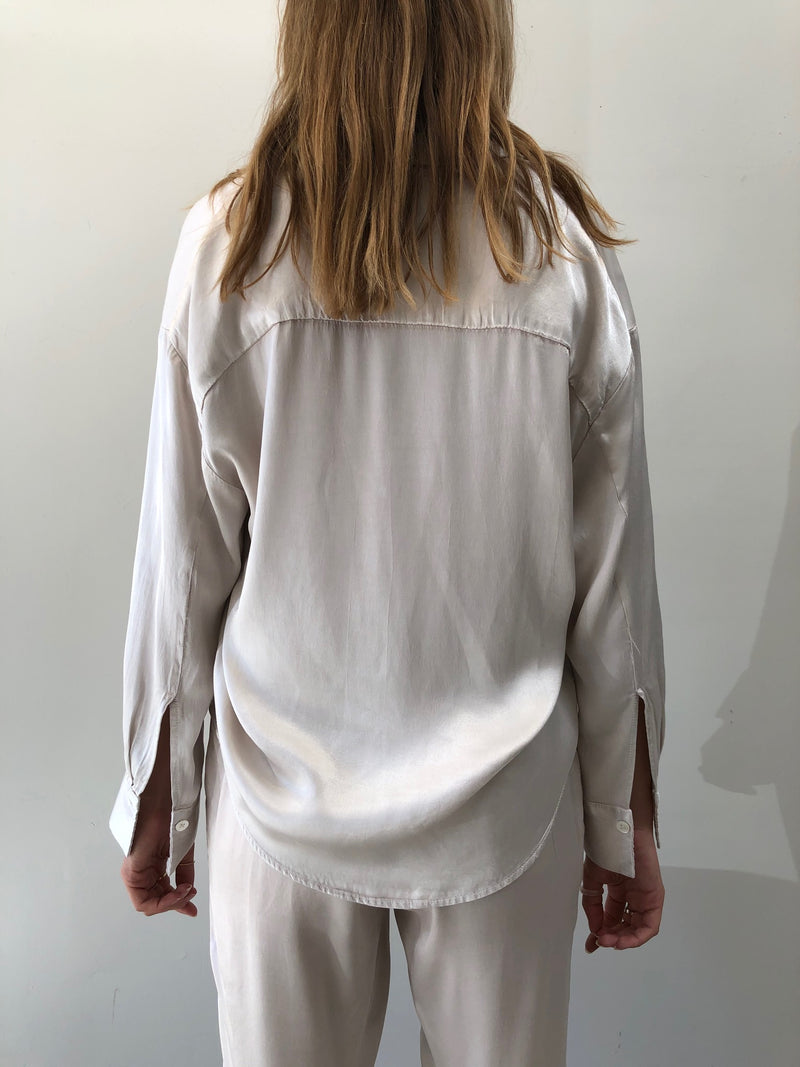 Pharaoh PJ Pullover Top - Parchment