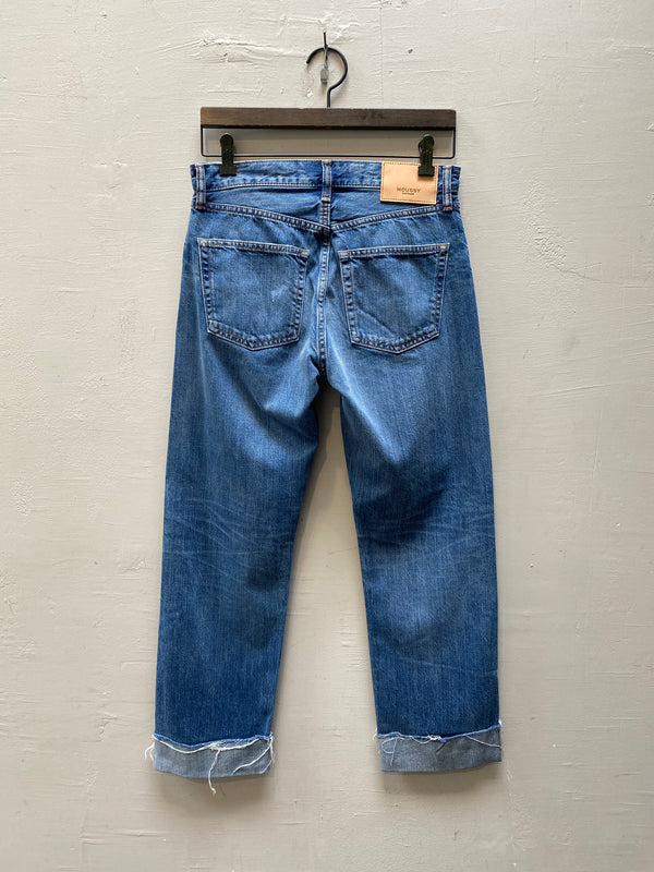 Moussy MV Paramus Straight Jean - Light Blue
