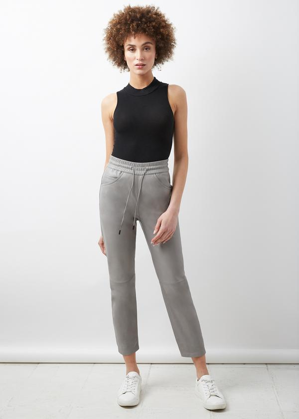 LTH JKT Ama High Waisted Jogger - Gravel Grey