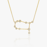 Logan Hollowell Gemini Diamond Constellation Necklace