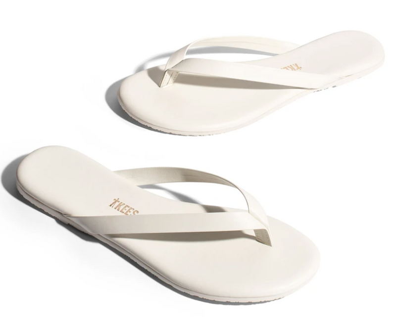 Tkees Boyfriend Sandal-Cream