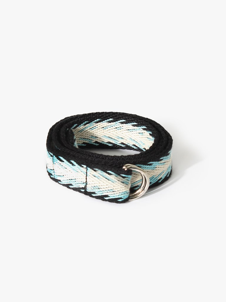 Xirena Webbed Belt - Bluemoon (Blue & Black)
