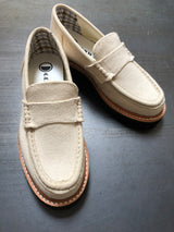 GOOD NEWS BEAM CANVAS LOAFER - OATMEAL
