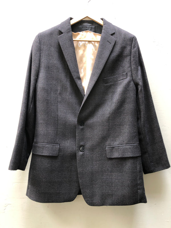 DONNA WOMAN - VINTAGE CALVIN KLEIN JACKET - GREY PLAID