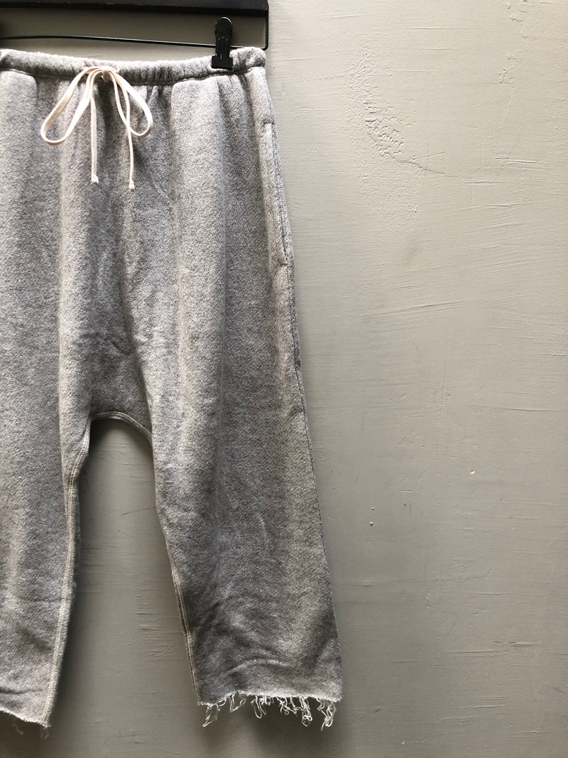 R13 FIELD SWEATPANT - HEATHER GREY