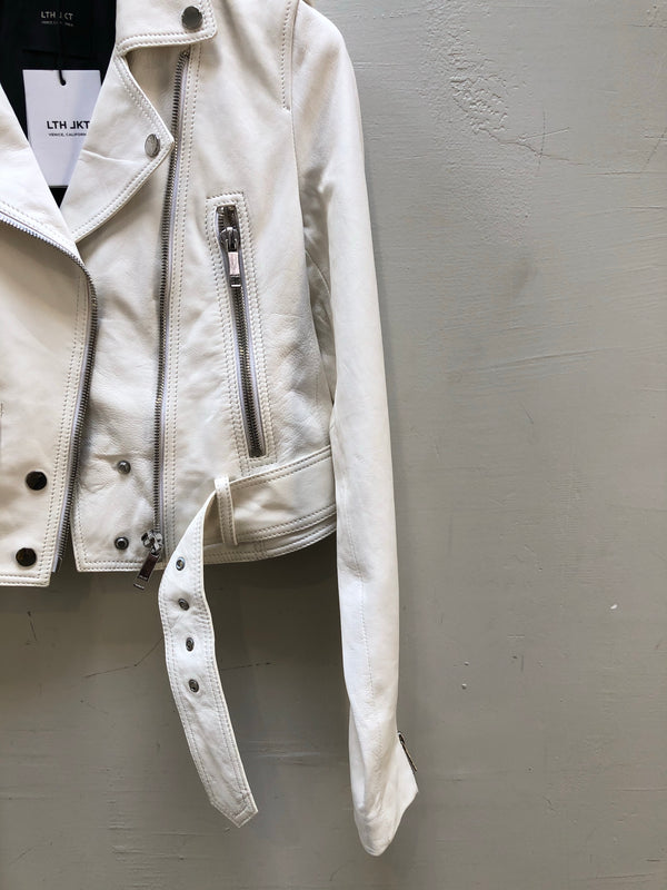LTH JKT - MAI CROPPED - WHITE