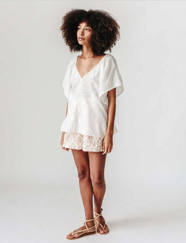 Mirth Bali Top- WHITE