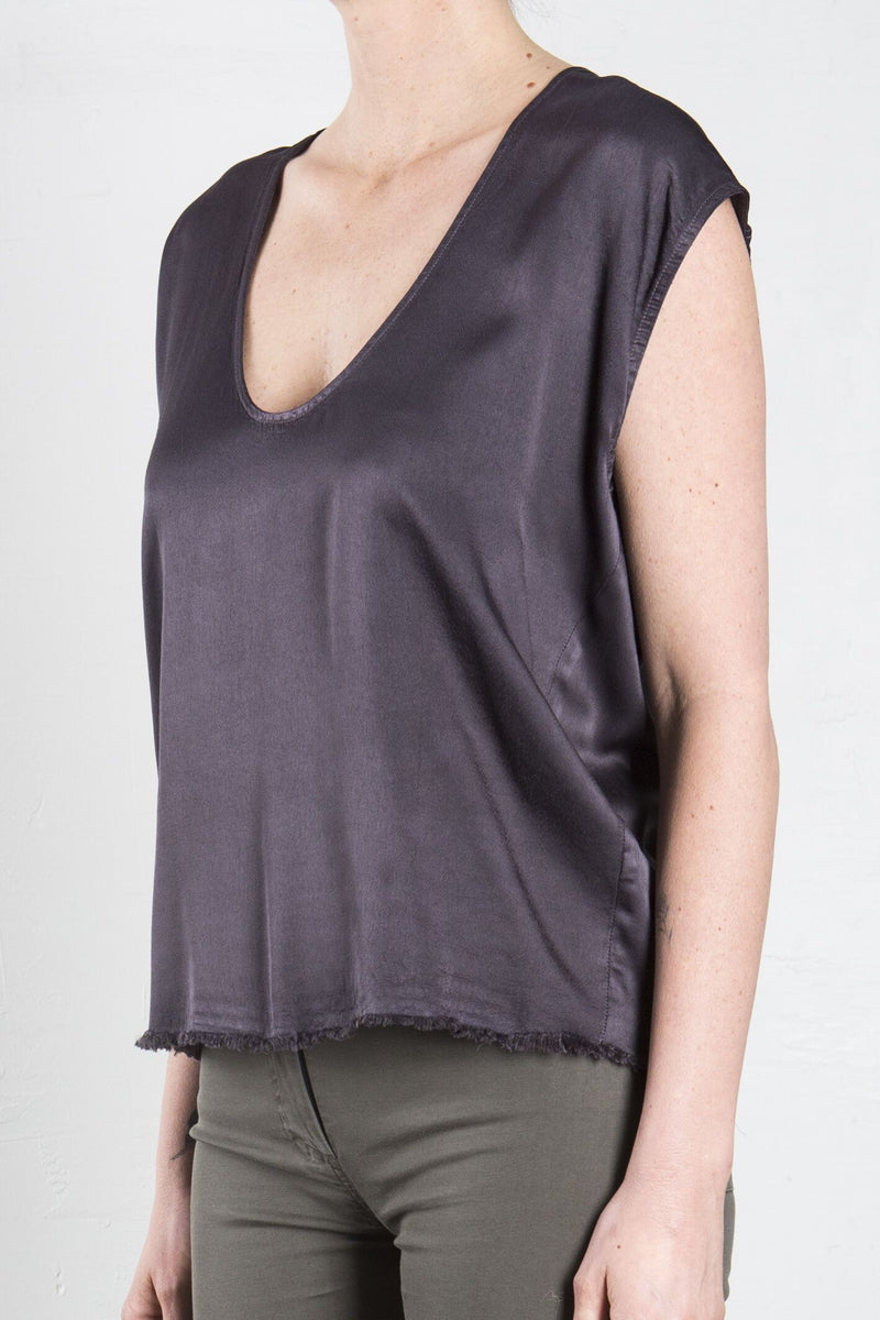 Cocoon Satin Shell - Graphite