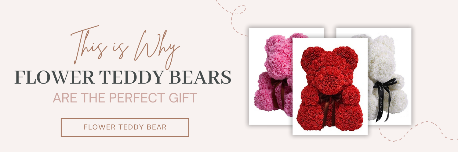 This Is Why Flower Teddy Bears Are The Perfect Gift