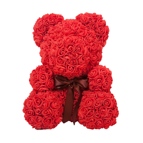 DIY Rose Teddy Bear