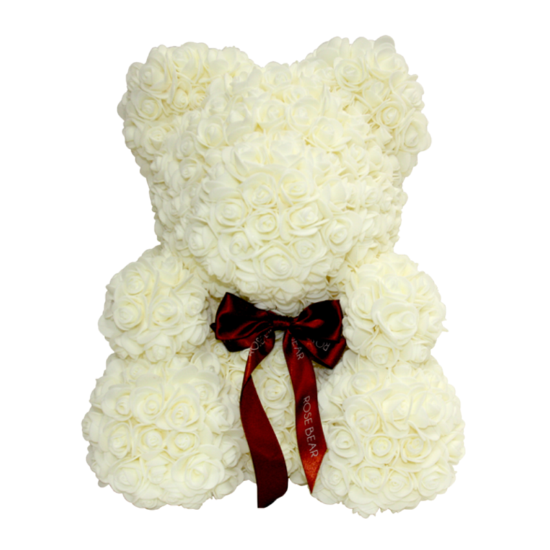 White Rose Bear Kit