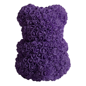 Purple Rose Bear