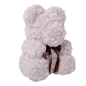 Rose Bear with Gift Box Medium
