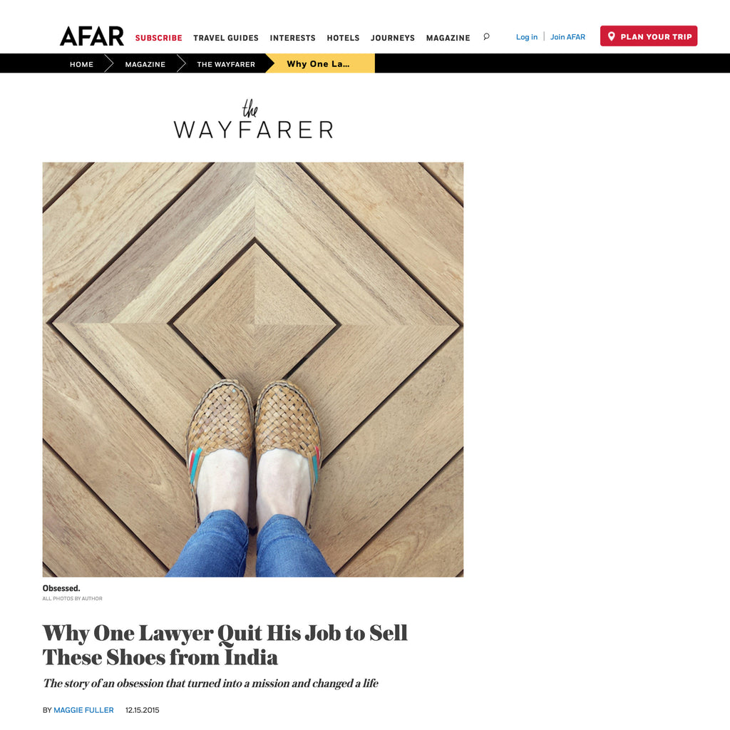 AFAR Feature | The Wayfarer