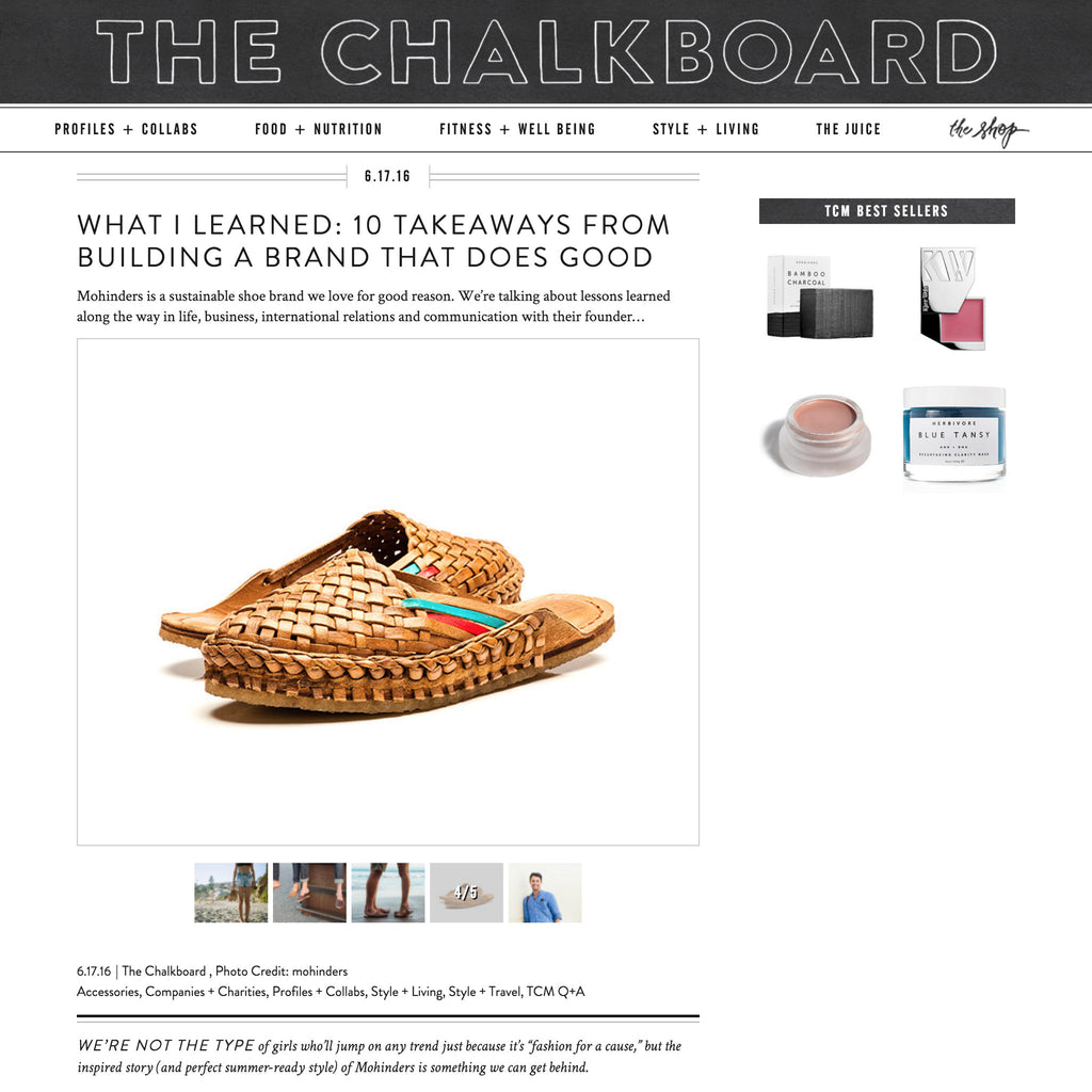 The Chalkboard Mag | Featured Contributor