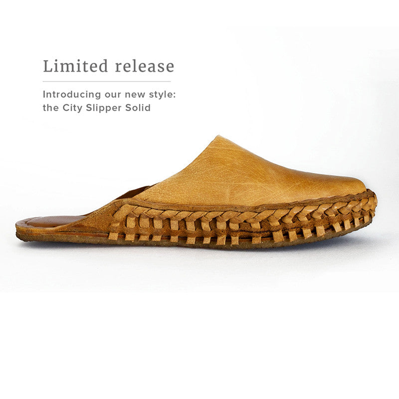 Introducing a new style  //  the City Slipper in Solid Leather