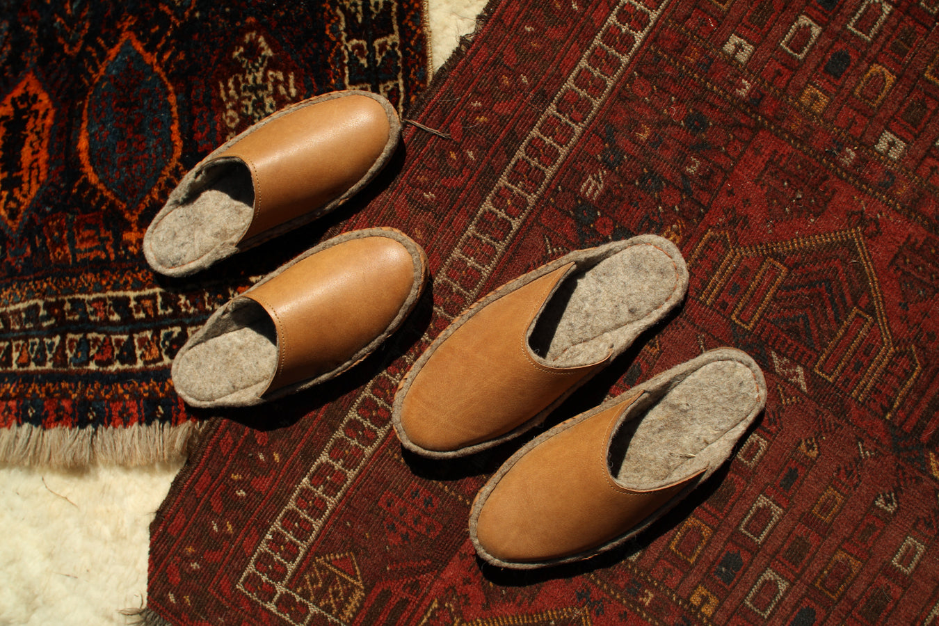 Men's Wool Slipper