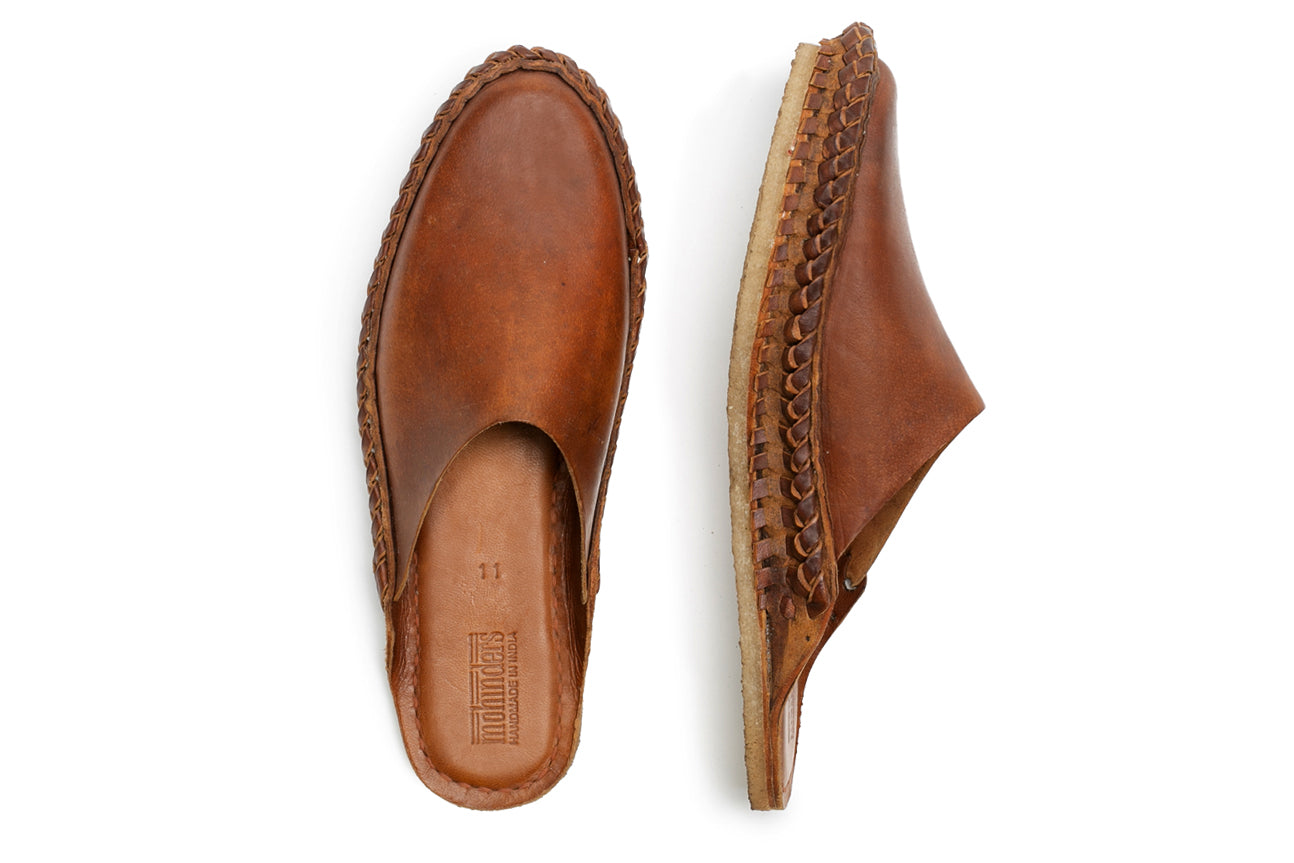 Solid City Slipper / Oiled Leather