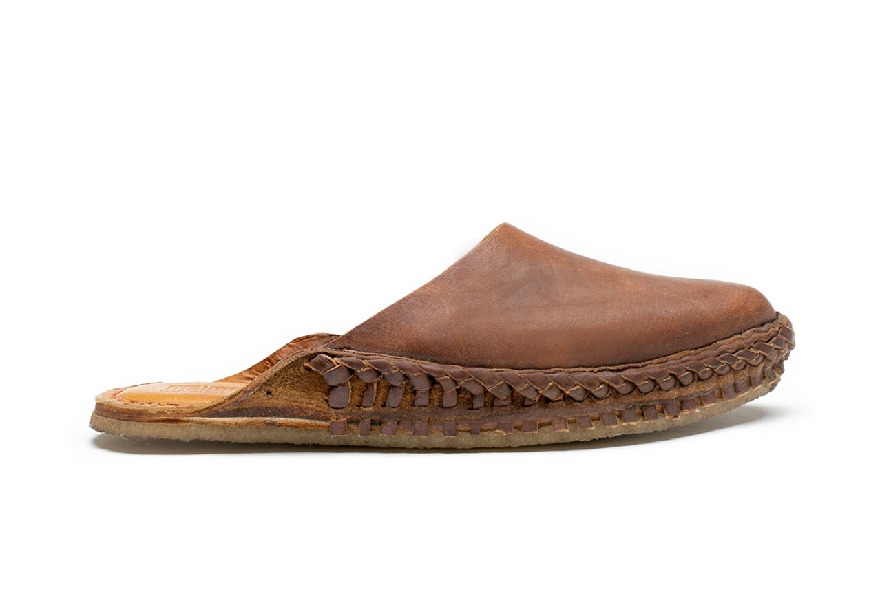 Solid Slide / Oiled Leather