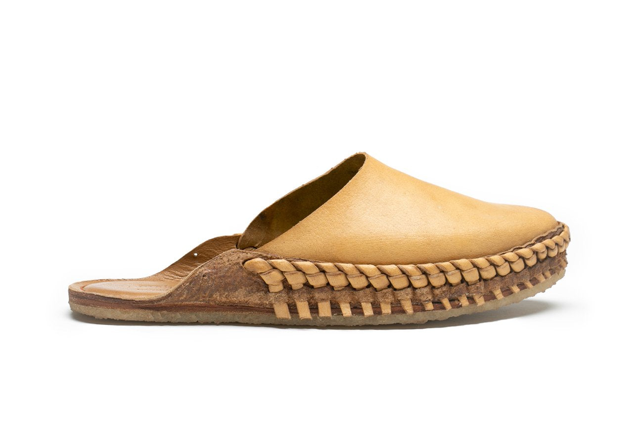 Solid Slide / Natural Leather