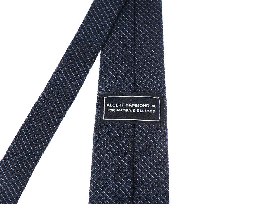 AHJ for J-E: Ace Of Space Blue/Black Tie