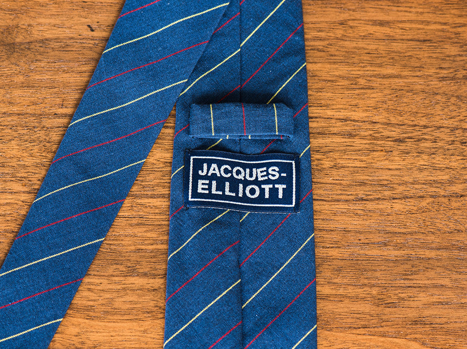 Dusted Flusser Blue Striped Tie