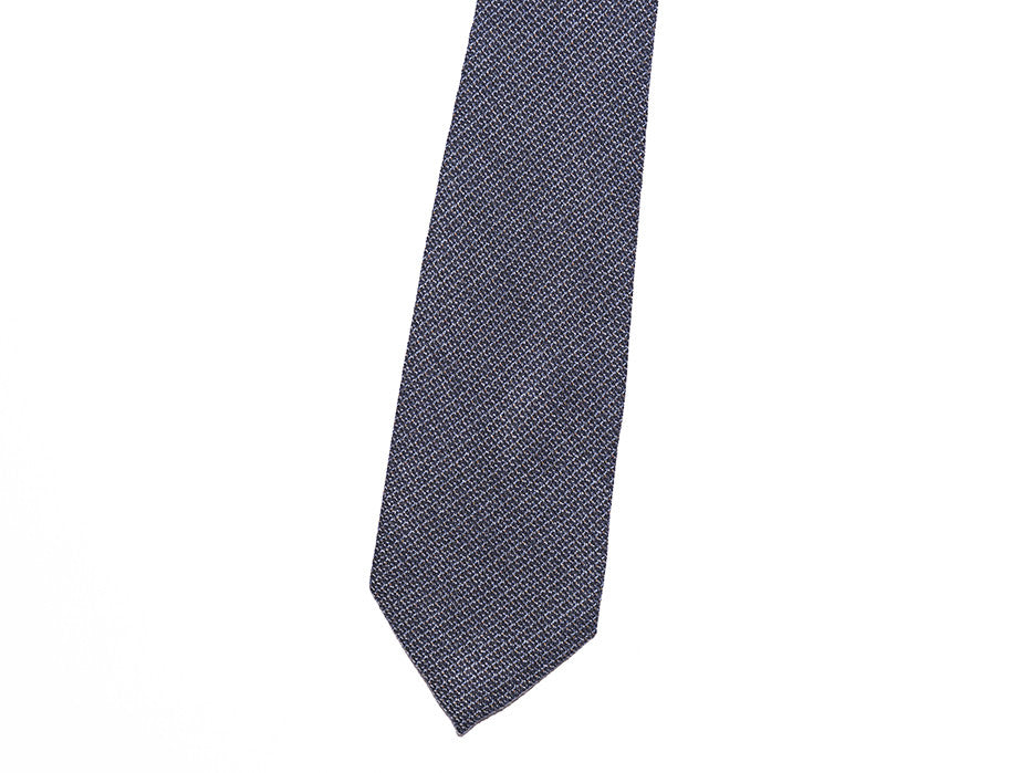Executive Navy Link Pattern Tie