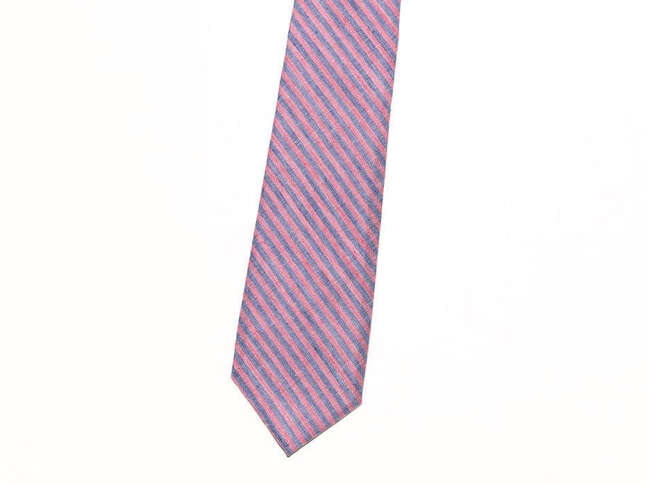 Skinny Soft Striped Chiller Tie