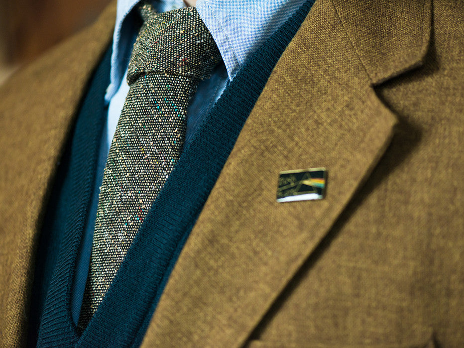 Skinny Professor's Choice Flecked Donegal Tie