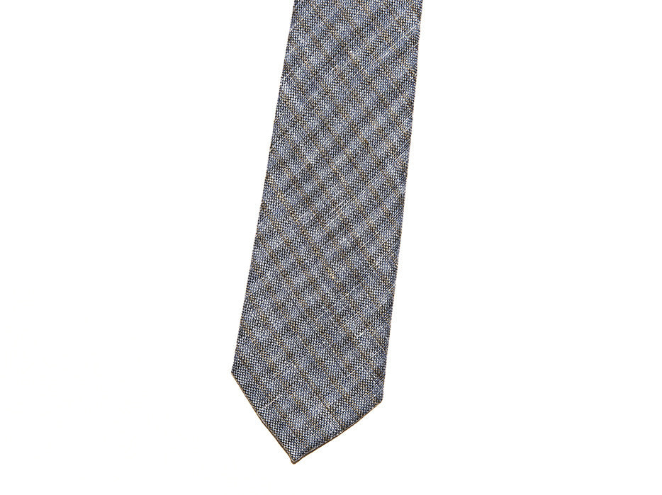 Super Textured VIP Tie In Light Blue Wool