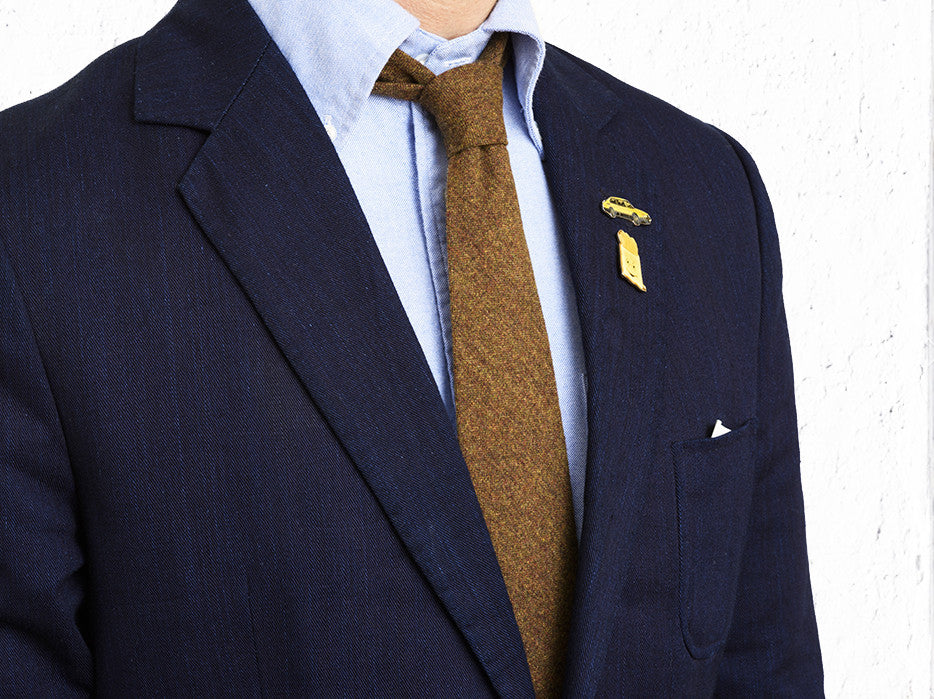 Supertweed Earth Tone Tie