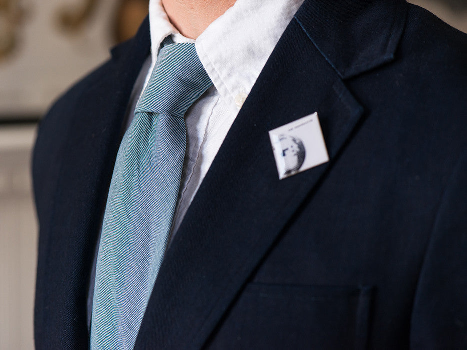 Sure Shot Grey/Teal Happy Times Tie