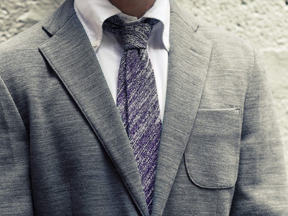 True Elegancia Blue Flecked Tie