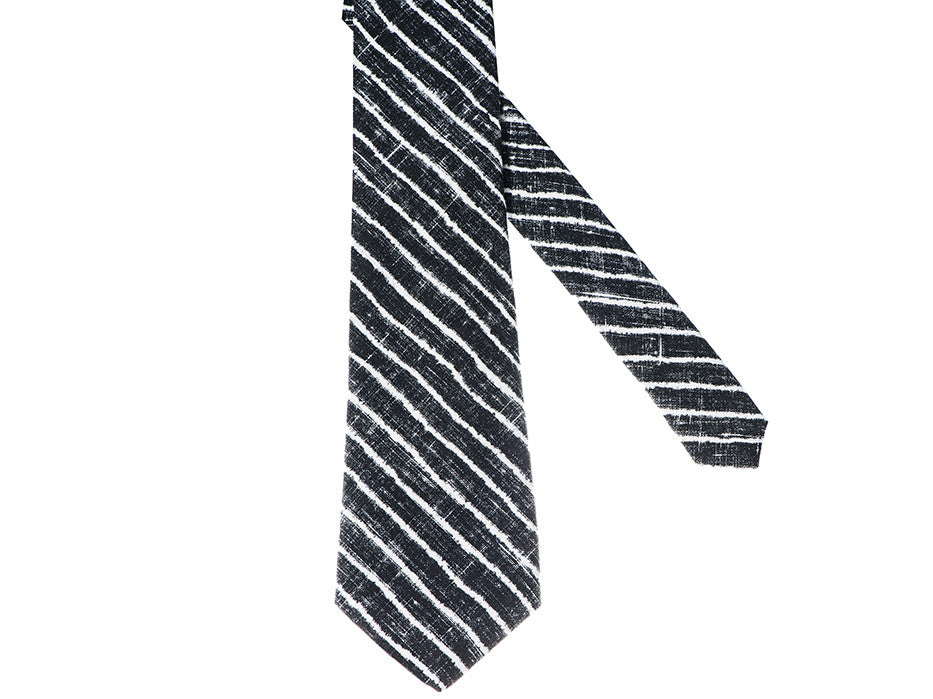 Zebra Heater Striped Tie