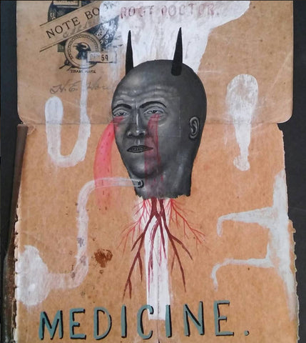 "Fred Stonehouse Drawing: ""Country Medicine"""
