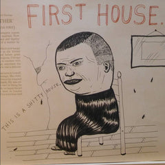 "Fred Stonehouse Drawing: ""First House"""
