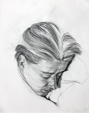 F. Scott Hess Drawing: Untitled Portrait